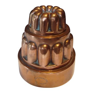 Victorian Copper Jelly Mold - Benham & Froud