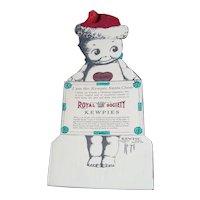 Santa Kewpie Advertising Card