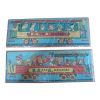 Raggedy Ann Railroad Train Puzzle