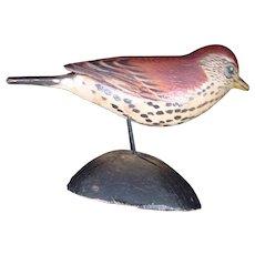 A  Elmer Crowell Miniature Decoy