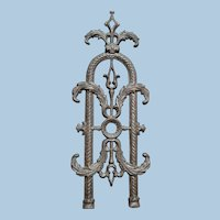 Antique Cast Iron Fence Posts -
