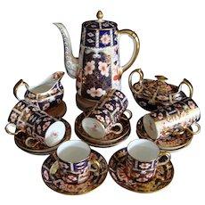 Royal Crown Derby Imari #2451 Coffee Set - Tiffany & Co. 21pcs
