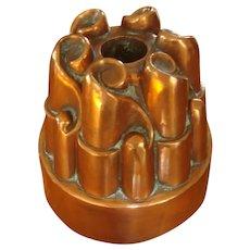 Antique Copper Jelly/Food Mold Circa 1860