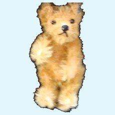 Early Miniature Steiff Teddy Bear - Long Trail Ear Button
