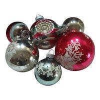 Shiny Brite Christmas ornaments - 6