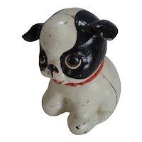 Hubley Cast Iron Bank - Fido Puppy Dog