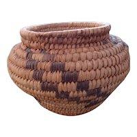 Vintage Native American Papago Basket