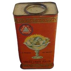Grand Union Tea Co Confectionary Tin