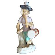 Dresden Monkey Band Figurine - Drummer