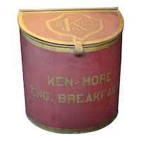 Country Store Tea Tin