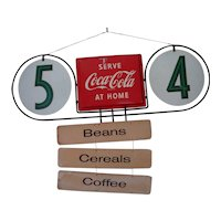 Coca Cola Sign-Double sided