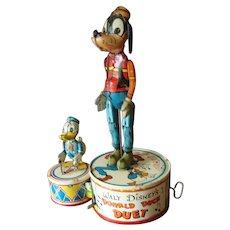 Marx Walt Disney's Donald Duck Duet - Circa 1940