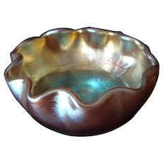 Tiffany Favrile Salt Dip