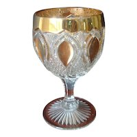 EAPG U.S.Glass New Jersey - Goblet