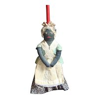 Black Mammy Broom Doll