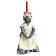 Black Mammy Broom Doll