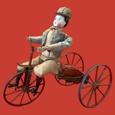 Gustave Vichy Tricycle Automaton, French, circa 1860