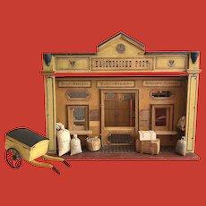 A very rare Moritz Gottschalk post office