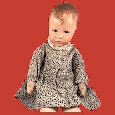 A sweet Käthe Kruse Hampelchen doll