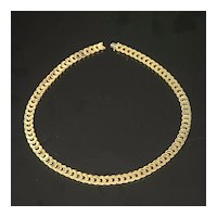 Cartier C De Cartier 18K Yellow Gold Necklace 17 inches