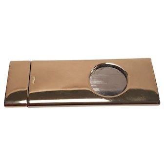 Vintage Donanis Solingen 14K Gold Cigar Cutter