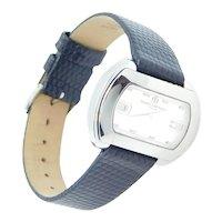 Ladies Baume & Mercier Wristwatch / Watch Stainless Steel with Black Strap