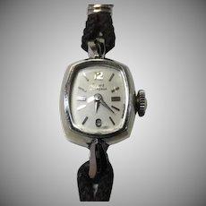 Vintage Girard Perragaux 14K Gold Ladies Watch