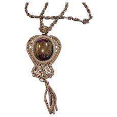 Vintage Pendant/Brooch – Necklace Combination
