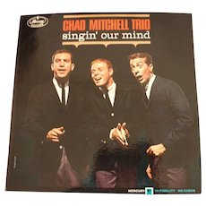 Vintage Record Album: Chad Mitchell Trio - singin' our mind