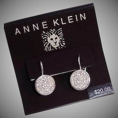 Anne Klein Vintage Pierced Earrings