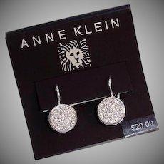 Anne Klein Vintage Pierced Earrings