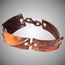 Vintage Copper Link Bracelet