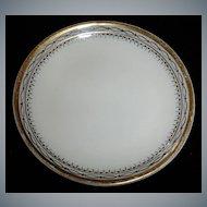 Antique Heinrich & Co. Porcelain Butter Pat - Antique Fine China