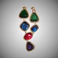 Vintage Kenneth Jay Lane CAPRIANTI Collection Necklace - Capri KJL For AVON Jewelry
