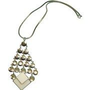 RETRO Hobe Necklace -  1960's Vintage  HOBE  Signed Necklace