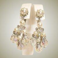 Sale***** VENDOME Jewelry Dangle Drop Vintage Chandelier Earrings