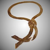 Vintage Gold Tone Necklace