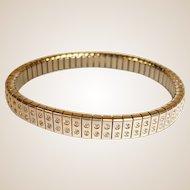 50+% off Sale - Estate Expandable Cubic Zirconia - CZ Bracelet