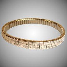 Estate Expandable Cubic Zirconia - CZ Bracelet