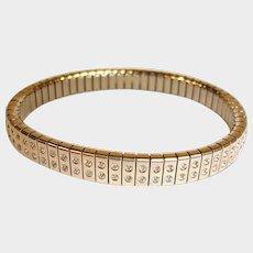 SALE *** Vintage Estate Expandable Cubic Zirconia - CZ Bracelet