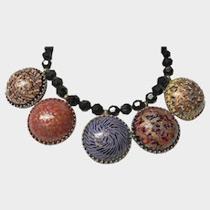 Vintage Jay Feinberg / Strongwater - Artistic Statement Necklace