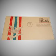FDC First Day Cover – Rise of the Spirit of Independence 1973