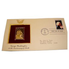 FDC First Day of Issue - George Washington  - Feb 22, 1982  - Mount Vernon, VA.