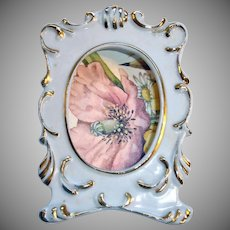 Vintage China Picture Frame - Lefton Of Japan Picture Frame
