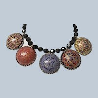 Vintage Jay Feinberg Artistic Statement Necklace - AKA Jay Strongwater