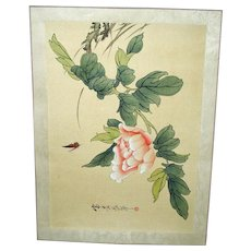 30% OFF - Vintage Original Japanese Woodblock Print- Unframed