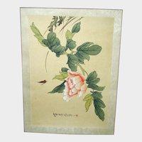 SALE *** Original Vintage Japanese Woodblock Print- Unframed