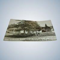 Vintage Post Card of Hotel Lakewoods Resort, Lake Namakagon, Cable, Wis.