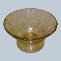 Vintage Depression Glass - OLD MADRID  Dish by Federal Glass