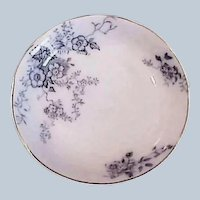 30% OFF - Late 1800's - Blue and White China - Alfred Meakin Porcelain Sauce Dish - England Severn China